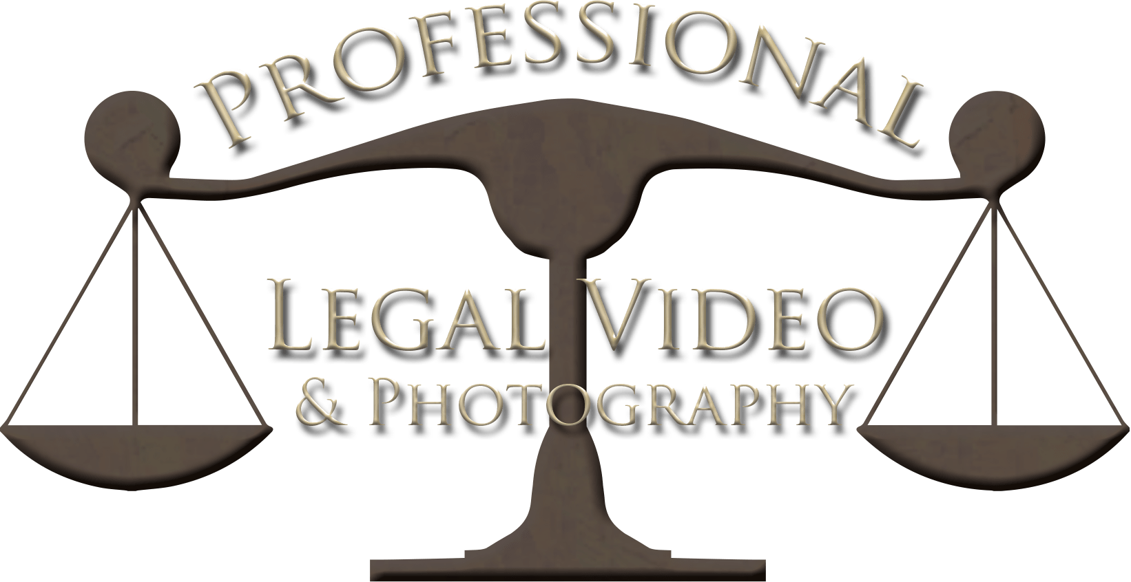 Professional Legal Video and Photography Logo